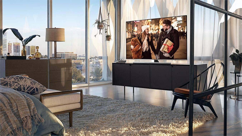 Smart Tivi Samsung 4K 75 inch UA75NU8000 thiết kế mỏng hiện đại