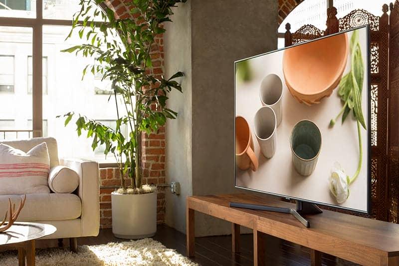 Smart Tivi Samsung 4K UA55NU7400 Thiết kế sang trọng đẳng cấp