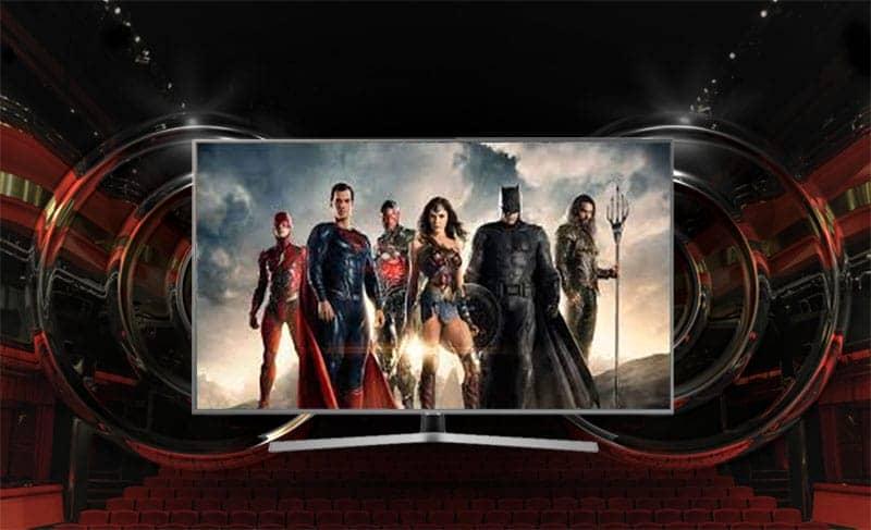 Smart Tivi Samsung 4K UA55NU7400 Công nghệ âm thanh vòm