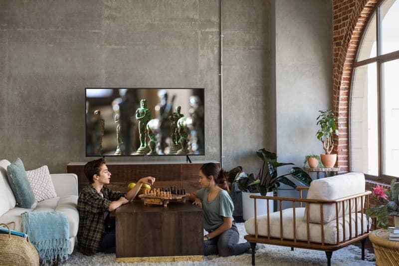 Smart Tivi Samsung 4K 58 inch UA58NU7103 thiết kế sang trọng hiện đại