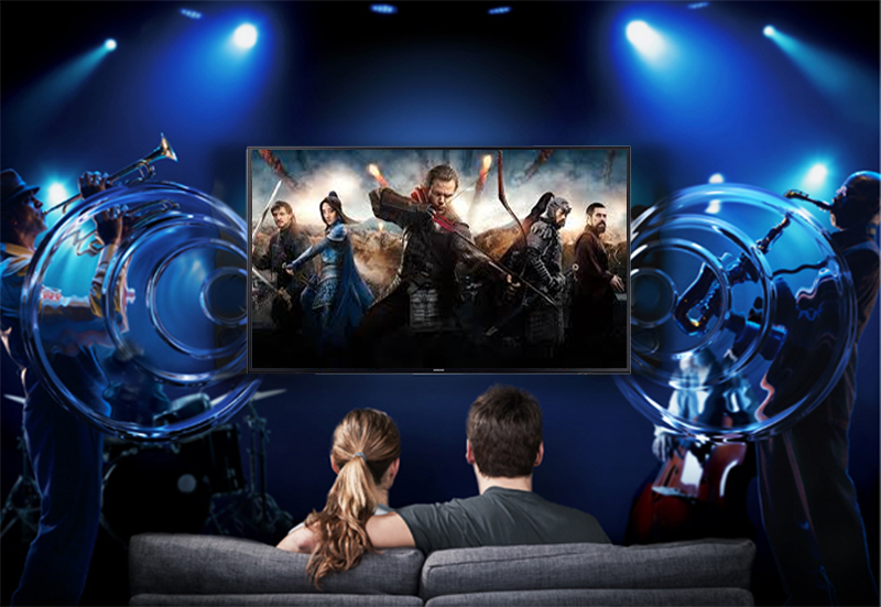 Smart Tivi Samsung 4K 58 inch UA58NU7103 Âm thanh vòm