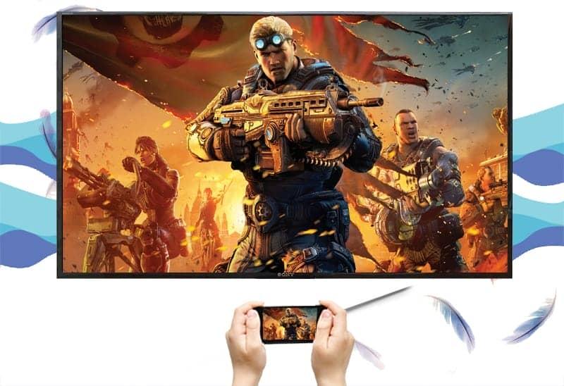 32W610F chiếu màn hình từ điện thoại