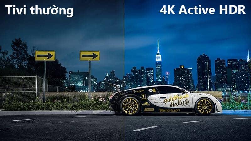Tivi LG 55UK6100 PTA Công nghệ 4K Active HDR