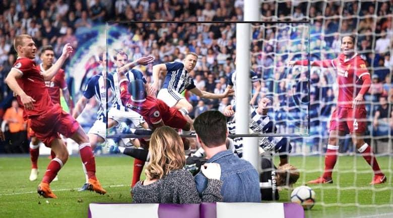 Tivi LG 55UK6100 PTA chế độ thưởng thức bóng đá chân thật