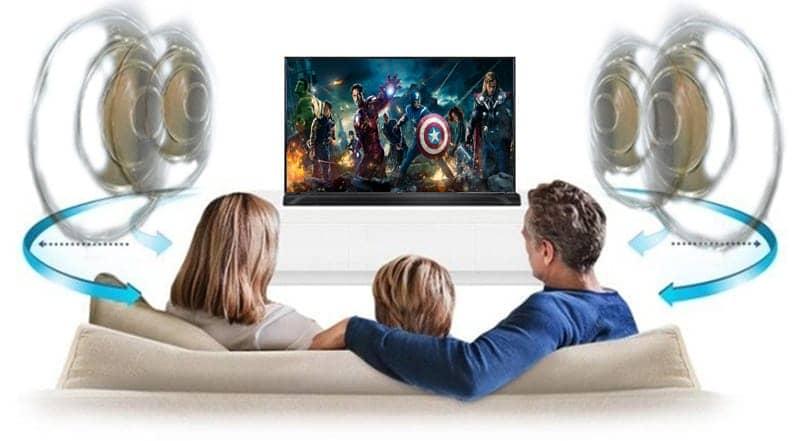Tivi LG 55UK6100 PTA Hệ thống âm thanh vòm đa chiều