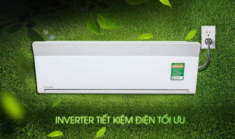 Điều hòa 2 chiều Panasonic Inverter 9000 BTU CU/CS-VZ9TKH tiết kiệm điện