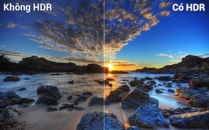 Smart Tivi Samsung 4K 65 inch UA65NU7400 Công nghệ HDR