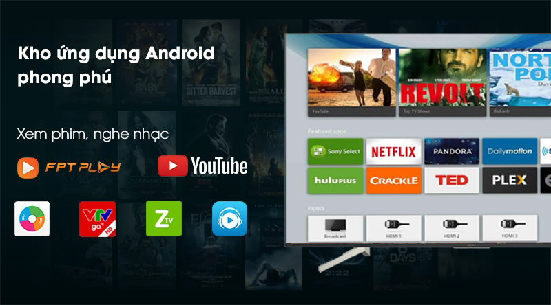 KD-55X8500F/S-Android TV
