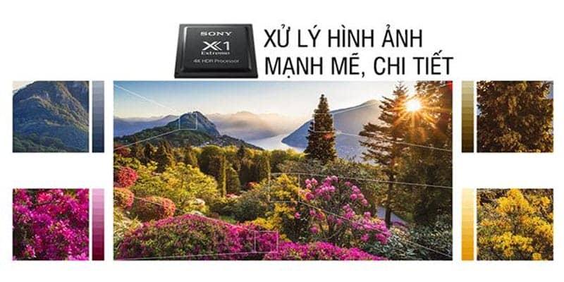 Chíp xử lý hình ảnh mạnh mẽ trên Sony KD-55X9000F