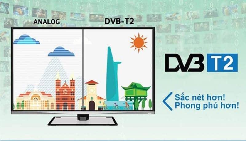 Truyền hình số mặt đất DVB-T2 trên 65X8500F/S