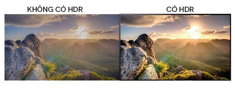 HDR sắc nét trên Sony 65X8500F/S