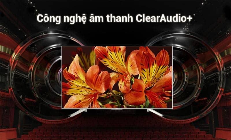 Công nghệ âm thanh ClearAudio+ tiên tiến trên Sony 65X8500F/S