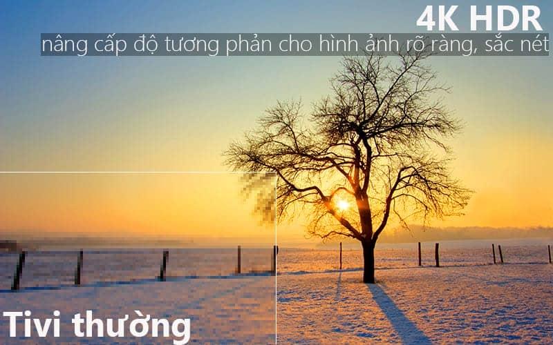 Smart Tivi Samsung 4K 65 inch UA65NU7100 HDR