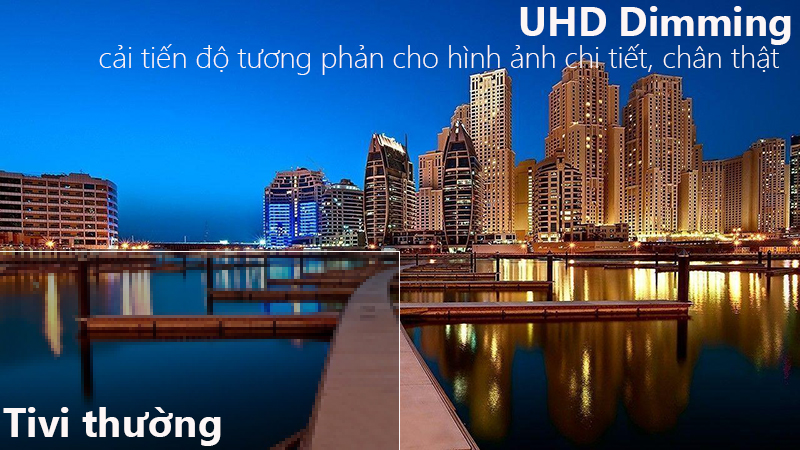 Smart Tivi Samsung 4K 65 inch UA65NU7100 UHD Dimming