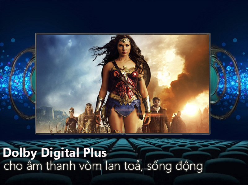 Smart Tivi Samsung 4K 65 inch UA65NU7100  Dolby Digital plus