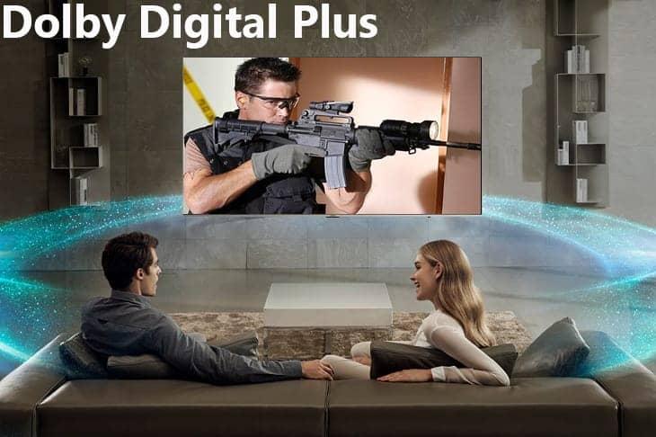 Smart Tivi 4K Samsung 82 inch UA82NU8000 Hệ thống âm thanh vòm