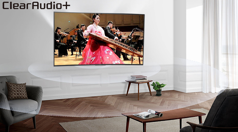 Smart Tivi 4K Sony 65 inch KD-65X7000F Âm thanh clear Audio