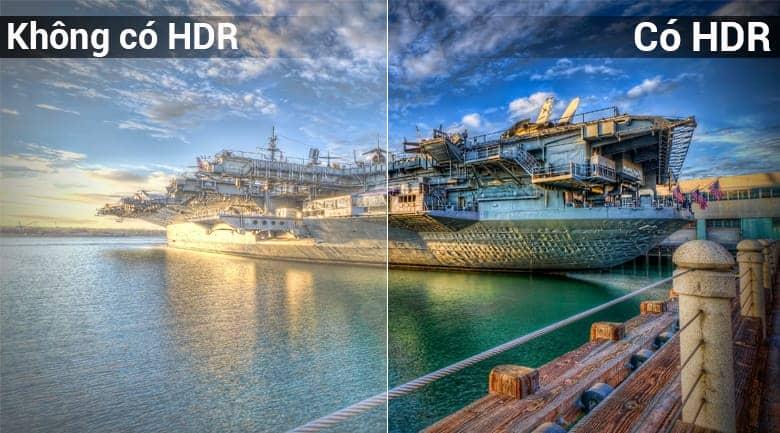 KD-75X8500F công nghệ HDR