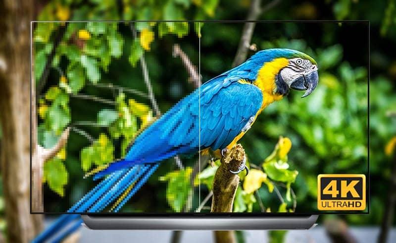 Smart Tivi OLED LG 4K 55 inch 55C8PTA  Độ phân giải 4k Ultra HDR