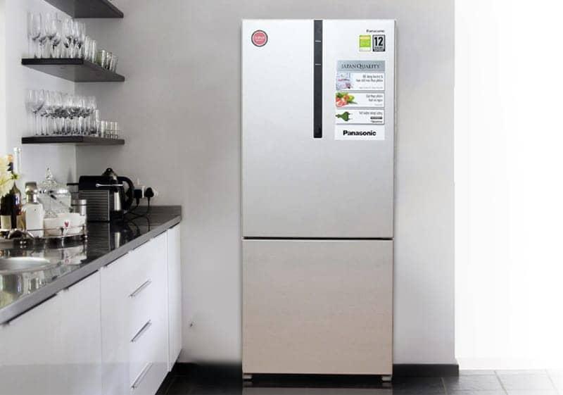 Tủ lạnh Panasonic 363 lít NR-BX418VSVN thiết kế đẹp mắt
