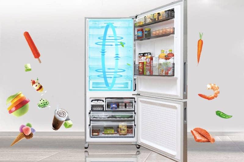 Tủ lạnh Panasonic 363 lít NR-BX418VSVN công nghệ lạnh panoma