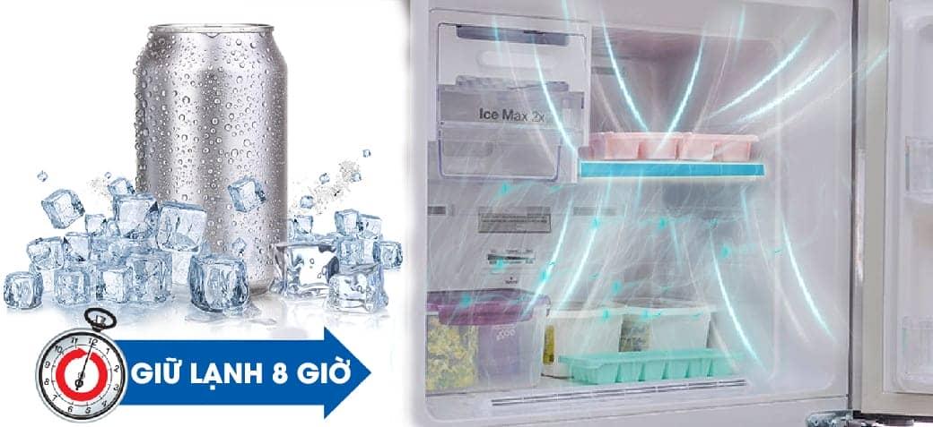 Hệ thống giữ lạnh trên tủ RT25HAR4DSA/SV