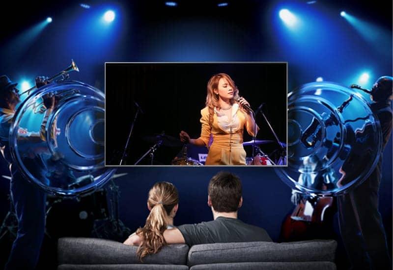 Smart Tivi 4K Samsung 49 inch UA49NU7100 Dolby digital plus