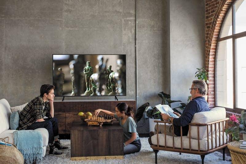 Smart Tivi 4K Samsung 55 UA55NU7100 Thiết kế sang trọng tinh tế