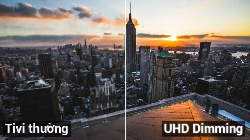 Smart Tivi 4K Samsung 55 UA55NU7100 UHD Dimming