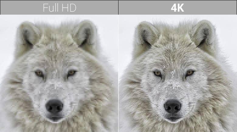 Android Tivi Sony 4K 43 inch KD-43X8500F/S chất lương hình ảnh 4K