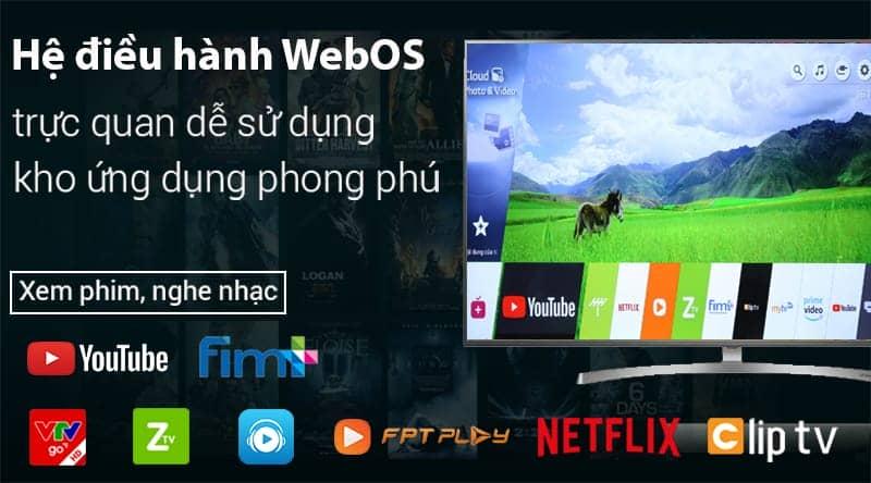 Smart Tivi LG 4K 43 inch 43UK6340PTF web OS