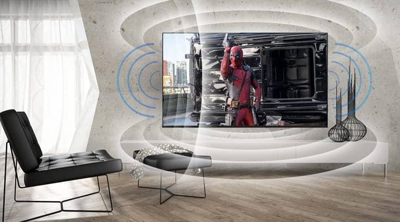 LG 49LK5700PTA với công nghệ âm thanh vòm cao cấp