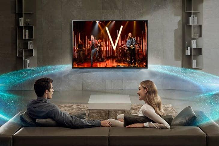 Tivi Samsung 32 inch UA32N4000 HD Âm thanh vòm