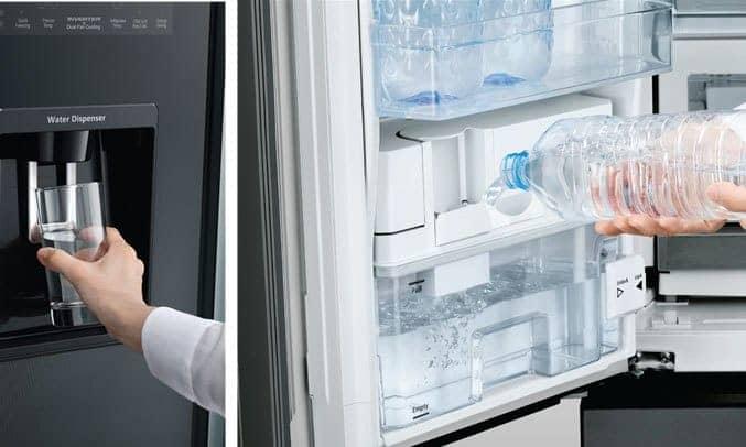 Lấy nước bên ngoài tủ lạnh R-WB730PGV6X (XGR)
