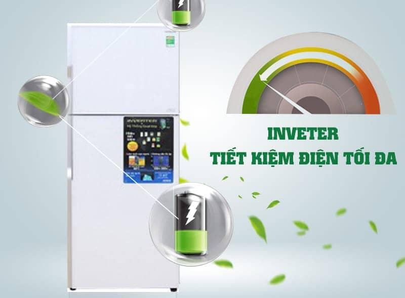 Công nghệ inverter trên tủ lạnh R-VG470PGV3 (GPW)