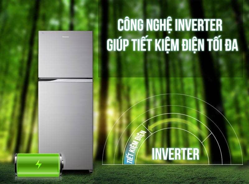 Tủ lạnh Panasonic 405 lít NR-BD468VSVN thiết kiệm điện