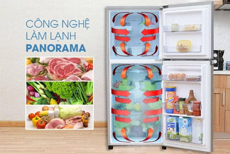 Tủ lạnh Panasonic 405 lít NR-BD468VSVN công nghệ Panorama