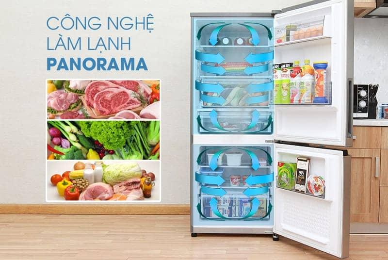 Tủ lạnh Panasonic 255 lít NR-BV289XSVN công nghệ Panorama