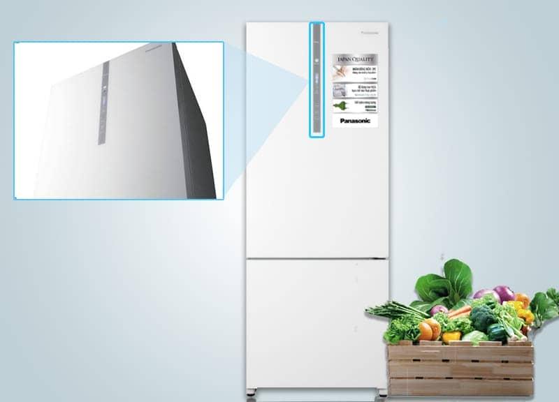 Tủ lạnh Panasonic 405 lít NR-BX468GWVN Bảng điều khiển ngoài