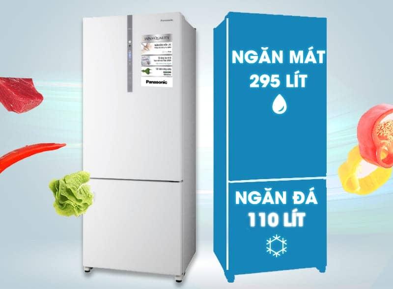Tủ lạnh Panasonic 405 lít NR-BX468GWVN