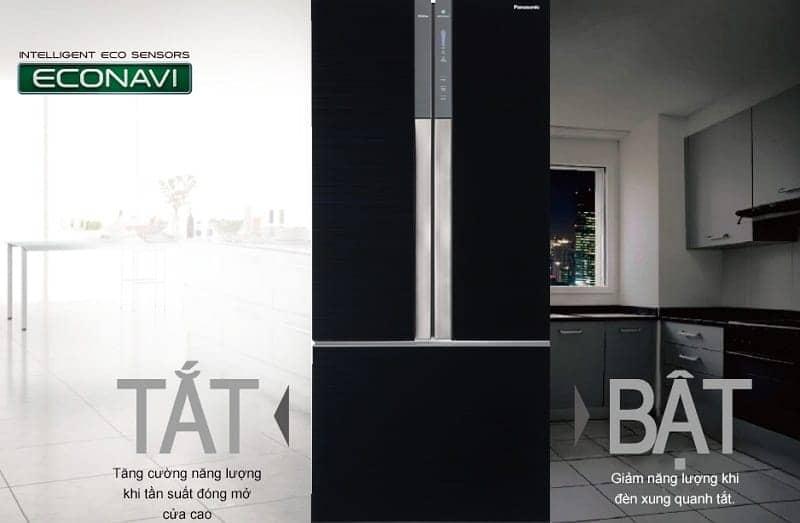 Tủ lạnh Panasonic inverter 491 lít NR-CY558GKVN econavi