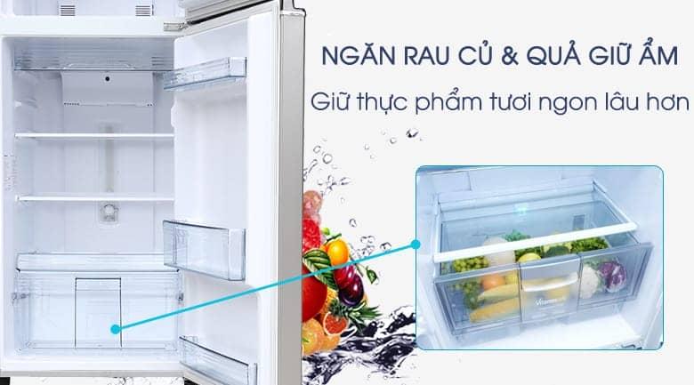 Tủ lạnh Panasonic inverter 267 lít NR-BL308PSVN Ngăn giữ ẩm