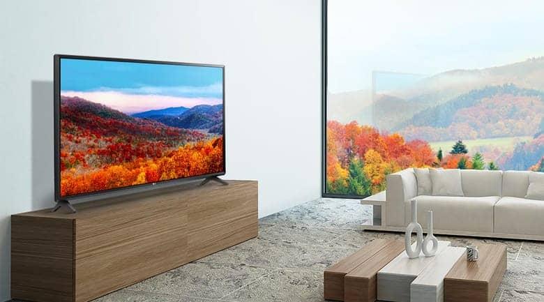 Smart Tivi LG 43 inch 43LK5700PTA Thiết kế đơn giản tinh tế